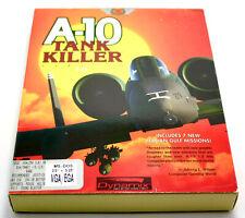 Vintage A-10 Tank Killer 286 VGA Software Dynamix Great War Planes