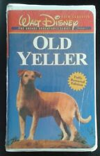 """Old Yeller"" VHS Brand New Factory Sealed in Clamshell Case *Fully Restored*"