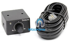 FOCAL CAR AUDIO REMOTE KNOB WIRED BASS SUB CONTROL for SOLID 1- 4 AMPLIFIERS NEW