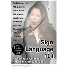 Sign Language 101: A Beginner's Guide to American Sign Language DVD - New 2018!
