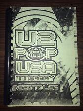 Vintage Rare U2 Pop Mart USA Second Leg ~Tour Itinerary~ 1997