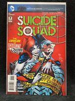 SUICIDE SQUAD (2011) #7 DC Harley Quinn Origin New 52