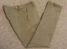 "Banana Republic Stretch Pants sz 25 Khaki Skinny Leg 28"" X 27.5"""