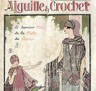 AIGUILLE & CROCHET ALBUM N. 13 LA BRODERIE DE LAINE