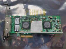 Quad Port GbE GE iSCSI TOE PCIe x4 IBM 49Y7948 49Y7949 Broadcom BCM95709A0906G