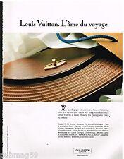 Publicité Advertising 1991 Maroquinerie sac à main Louis Vuitton