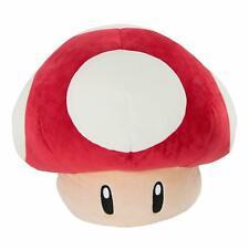 """Mario Kart - Mocchi-Mocchi Large 40cm (16"""") Plush Super Mushroom *BRAND NEW*"""