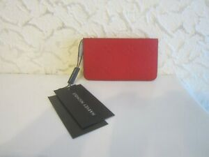 Christian Louboutin Embossed Logo Card Holder With Zipped Compartment