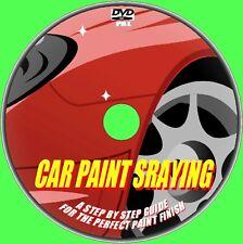 Learn Car body Panel Spray Painting 4 Beginners Video DVD Perfect Respray Job
