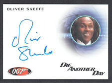 JAMES BOND 2013 AUTOGRAPHS & RELICS AUTOGRAPH CARD #A234 OLIVER SKEETE