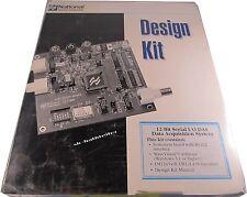 National Semiconductor LM12438EVAL  12-Bit Serial I/O Design Kit        A18/9382