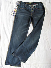 Miss Sixty Jakko Blue Jeans Baggy W26/L34 x-low waist loose fit bootcut wide leg