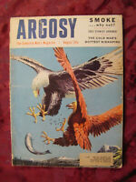 RARE ARGOSY August 1955 Eagles Anita Ekberg Richard Ferber John Toland