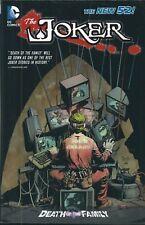 "BATMAN: THE JOKER ""DEATH OF THE FAMILY"" HARDCOVER BOOK (2013) MARVEL COMICS V/F+"