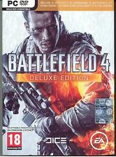 PC - BATTLEFIELD 4  DELUXE Edition + CHINA RISING + Bonus ITA NUOVO SIGILLATO