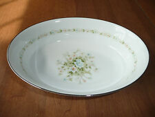 Noritake Poetry China Vegetable Oval Serving Bowl