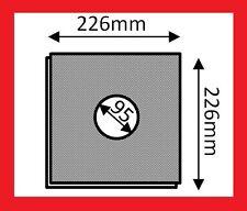 5x Filter für Limodor / Limot Lüfter F LF ELF 226x226mm Filtereinsatz Lig 22,6cm