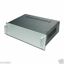 "SJ1614 16"" DIY Slope Panel Rack Mount Chassis Enclosure Amplifier Case Box"