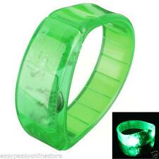 Accessoires fluorescents de fête vert pour la maison
