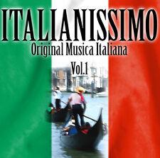 CD italianissimo volume 1 ORIGINALE MUSICA ITALINA di Various Artists 2cds