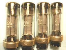 2 Tube POPE Philips 4699 METAL BASE = EL6/425 & PREDECESSOR of EL34 EL12 EL61