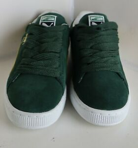 Puma Suede Classic mens Pineneedle- Spectra Yellow Us size 10 350734 11