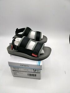 Carter's Kids Tango Boy's Mesh Sandal with Double Adjustable Straps