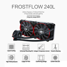 ID-COOLING 240L AIO Water Cooler + Unique Comet-tail LED Lighting 240mm Radiator