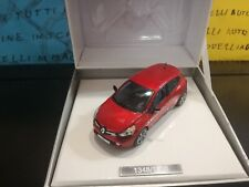 1/43 Eligor Renault Clio IV 1348-1500 573697 MEGA RARE PROMO GIFT BOX rouge red