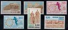 Serie des timbres de service N° YT 98 à 103 neufs **