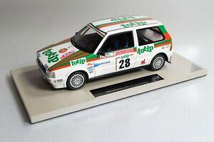 1/18 Top Marques TOP07A Fiat uno turbo rally San Remo 1986 Fiorio 062 of 200 BBR