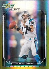 2006 Score Select Jake Delhomme 49/50 Carolina Panthers