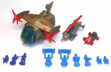 1980's Bluebird Toys - Zero Hour  ZF10 ZF11 ZF13 VTA TRANSPORT COPTER - ????