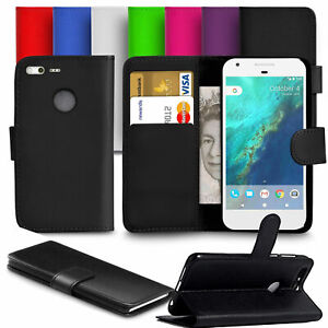 Leather Case Magnetic For Google Pixel 2 3 3A 4 XL Wallet Stand Cover Case