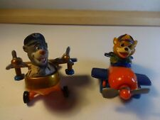 Disney Bernenstain Bears - Baloo and Brother Bear in Plane / Airplane - Loose