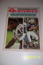 1971 PRO Quarterback BALTIMORE Colts UNITAS Chicago Bears GALE SAYERS No/Label