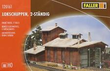 Faller 120161 H0 - Lokschuppen 2-ständig NEU & OvP