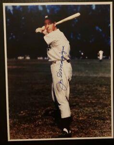 JOE DIMAGGIO NY YANKEES HOF SIGNED PHOTO Autograph Auto