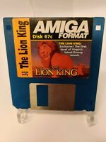 Disk 76c The Lion King Amiga Format Cover Disk