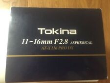 Tokina AT-X 11-16 mm 1:2,8 Pro DX II für Sony A-Mount  NEU