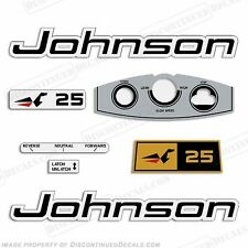 Johnson 1969 25hp Outboard Decal Kit - Discontinued Decal Reproductions! Sticker