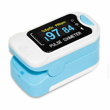 US ,Finger Fingertip Blood Oxygen Meter SPO2 OLED Pulse Heart Rate Monitor,Pouch