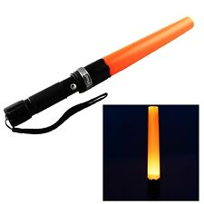 CREE Q5 1000LM Led Rechargeable Flashlight Tactical Torch with traffic wand