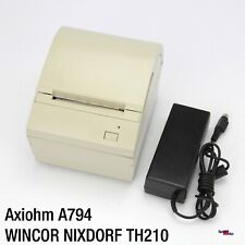 AXIOHM A794 WINCOR NIXDORF TH210 BON-KASSENDRUCKER PRINTER DRUCKER POS RS-232