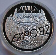200000 ZL ZLOTYCH POLAND 1992  Silver 999 SEVILLA EXPO 92 UNC