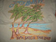 2007 Jimmy Buffett Bama Breeze Concert Tour (Med) T-Shirt Beige