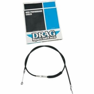 Drag Specialties 74-11/16 Inch Black Vinyl Clutch Cable Harley FXSTC FXDL XL 883