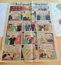 Dick Tracy & Ben Websters page comics August 1 1937 free shipping