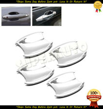 Chrome Door Handle Under Base Bowl Cup Covers Trims For 2007-2011 Honda CR-V SUV