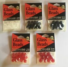 Top Brass Tackle 8 mm & 10 mm Glass Beads - Assorted Colors